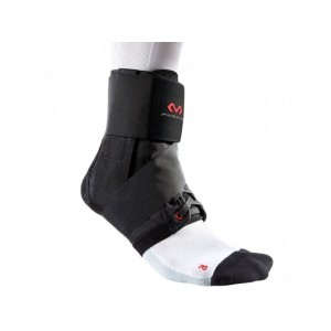 ANKLE BRACE WITH STRAPS - LIGHTWEIGHT SUPPORT