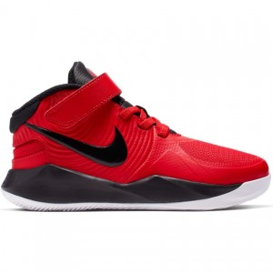 NIKE TEAM HUSTLE D 9 FLYEASE 'UNIVERSITY RED' (PS)